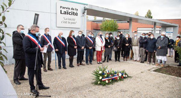 discours sobre du maire de Vendôme